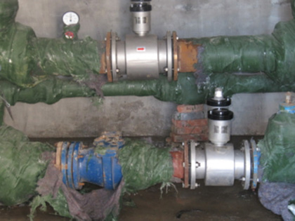 某油田供水公司计量升级系统